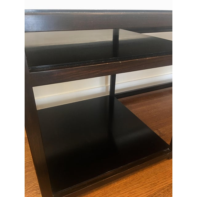 Edward Wormley 1950s Mid-Century Modern Dunbar Edward Wormley Architectural Console Table For Sale - Image 4 of 8
