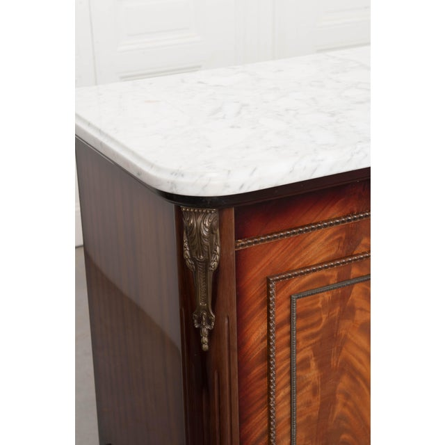 French Vintage Louis XVI-Style Enfilade For Sale In Baton Rouge - Image 6 of 12