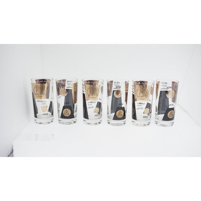 Tom Collins Old Dollar Glasses - Set of 6 - Image 4 of 4
