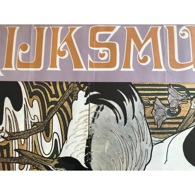 Art Nouveau In Het Rijksmuseum.Art Nouveau Exhibition Poster Rijksmuseum Amsterdam 70 S Jugendstil