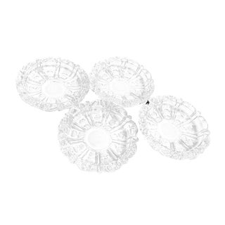 1950s Contemporary Crystal Dishes - Set of 4