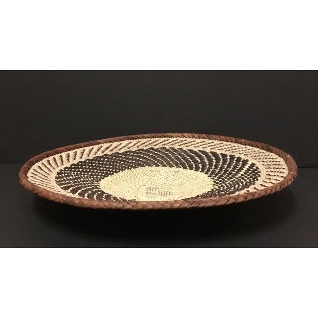 Binga Basket | Tonga Baskets 22 | African Basket | Woven Basket |Zimbabwe Basket |Ethnic Pattern |Ethnic Decor |Wall Hanging Basket - Image 2 of 8