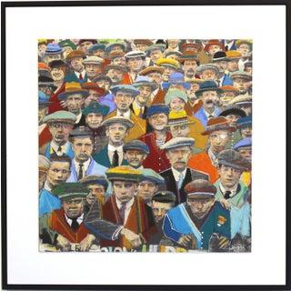 """Audience"" Original Artwork by Fabio Coruzzi For Sale"