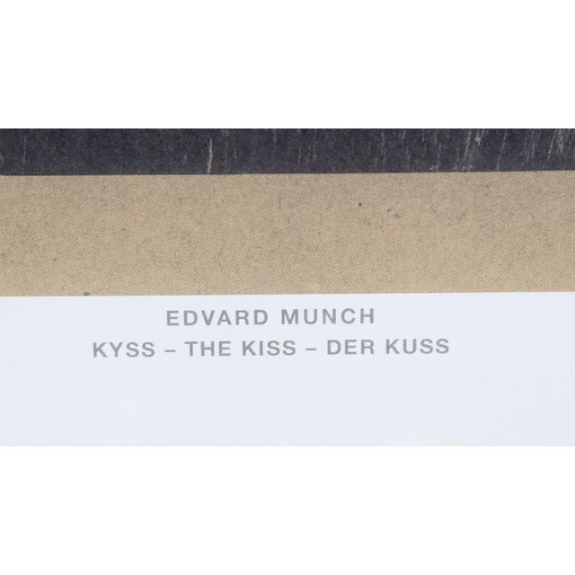 Edvard Munch, the Kiss, Poster For Sale - Image 4 of 5