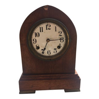 Antique American Classical Mantel Clock