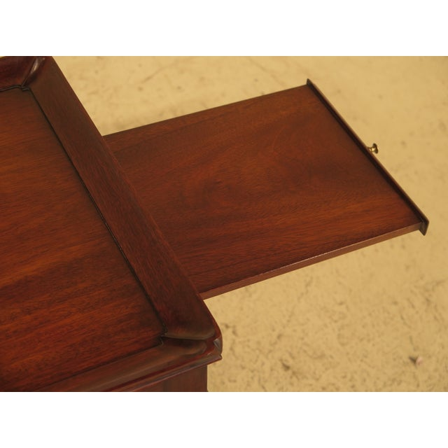 Henkel Harris Henkel Harris Queen Anne Mahogany Tea Table For Sale - Image 4 of 10