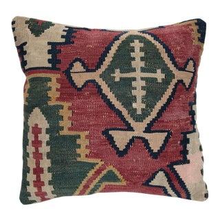 Antique Kilim Pillow Cover For Sale