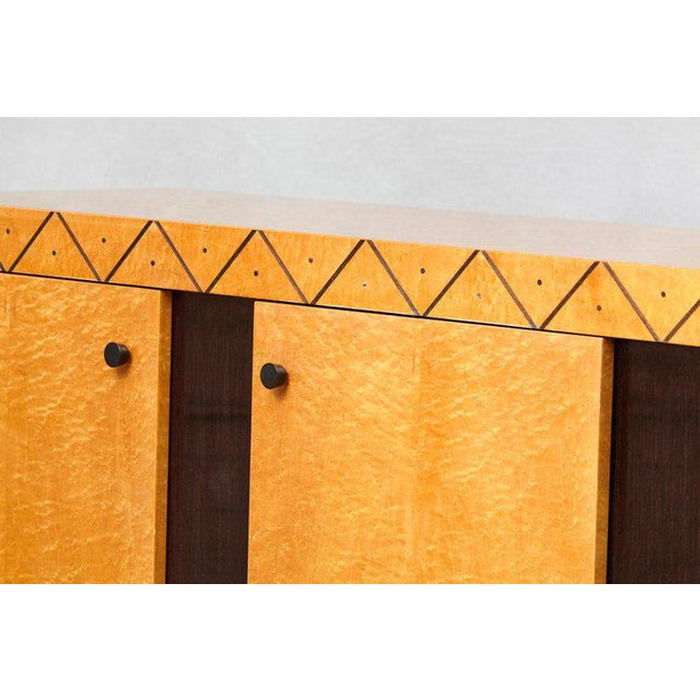 Lacquer Pace 'Boca' Collection Memphis Style Inspired Lacquered Credenza For Sale - Image 7 of 9