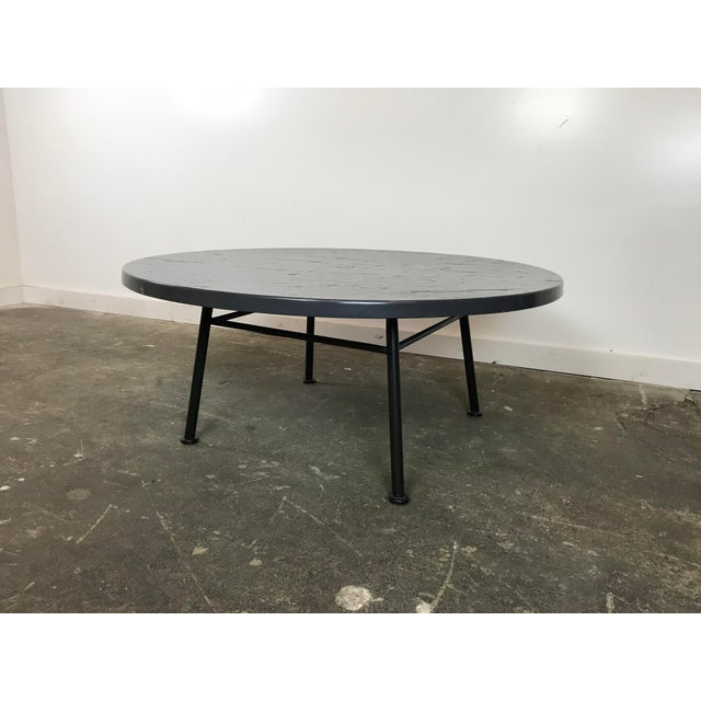 1960s Mid Century Modern Woodard Outdoor Coffee Table
