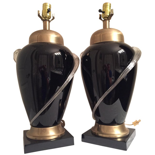 Frederick Cooper Chicago Lamps - A Pair - Image 1 of 6
