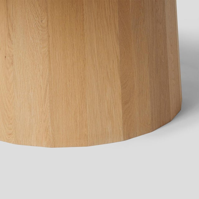 Oak Dining Table by Kaspar Hamacher For Sale In San Francisco - Image 6 of 7