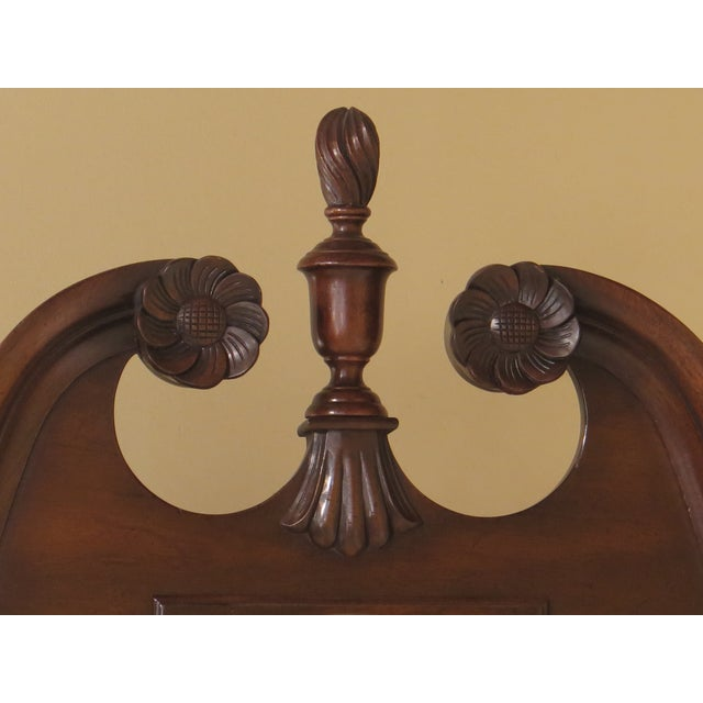 Chippendale Kittinger Old Dominion Collection Mahogany Highboy For Sale - Image 3 of 12