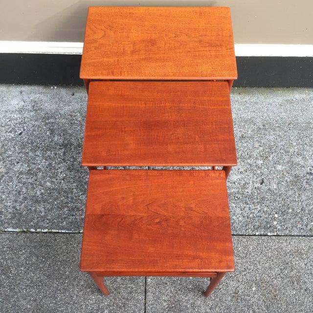 Hans Wegner Nesting Tables - Set of 3 - Image 6 of 11