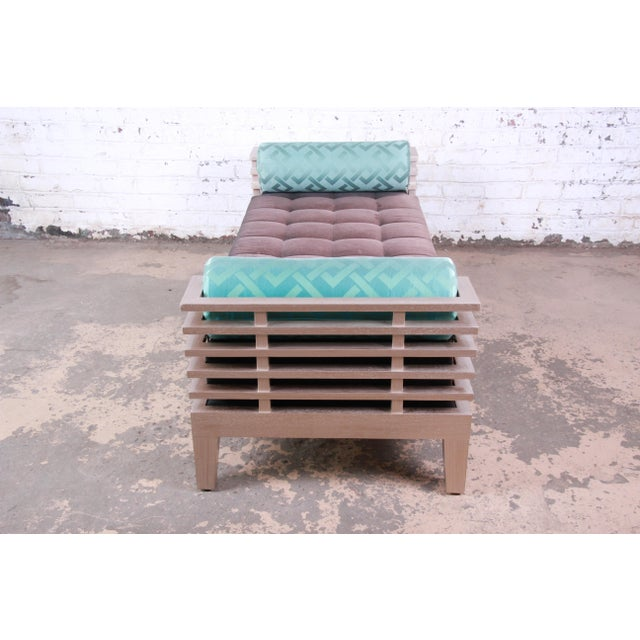 """2000 - 2009 Adriana Hoyos Modern """"Chocolate"""" Day Bed For Sale - Image 5 of 13"""