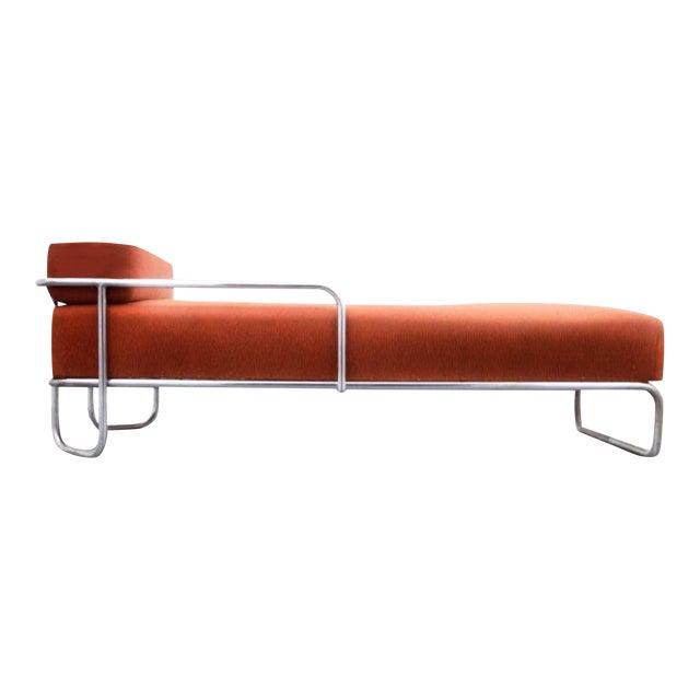 Final Markdown Bruno Weil Liege (B 267) Bauhaus Daybed for Ausführung Gebr. Thonet a.g. Hessen For Sale