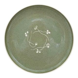 1950s Russel Wright for Harkerware Harker White Clover Plate For Sale