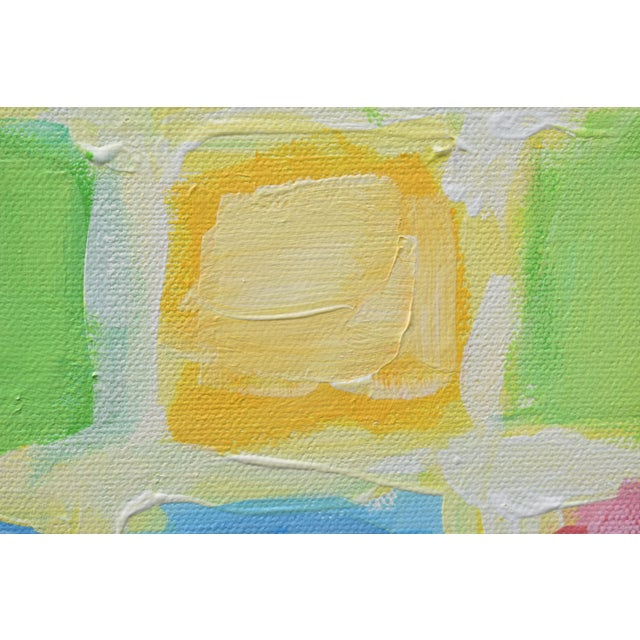 "Stephen Remick ""Glow"" Contemporary Abstract Painting For Sale In Providence - Image 6 of 11"