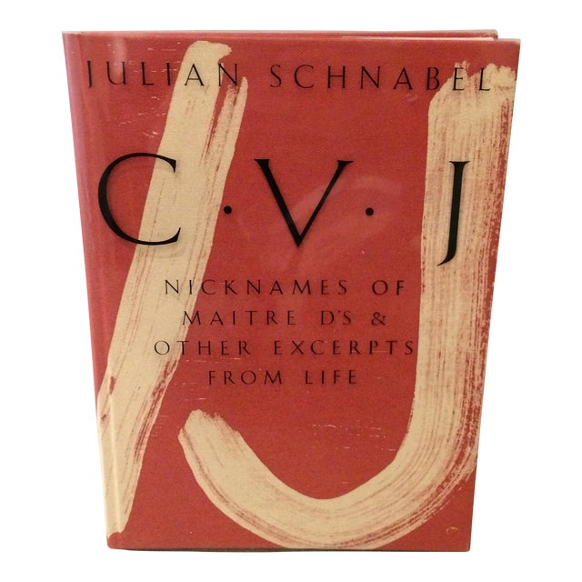 Julian Schnabel: c.v.j. Book - Image 1 of 3