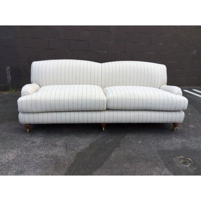 White English Club Sofa For Sale - Image 9 of 9