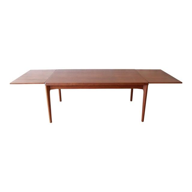 Henning Kjaernulf for Vejle Stole Danish Modern Teak Extension Dining Table - Image 1 of 10