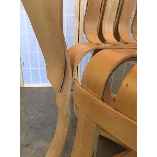 Knoll Frank Gehry for Knoll Modern Cross Check Chair For Sale - Image 4 of 11