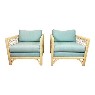 Vintage Lane Rattan Chairs-A Pair