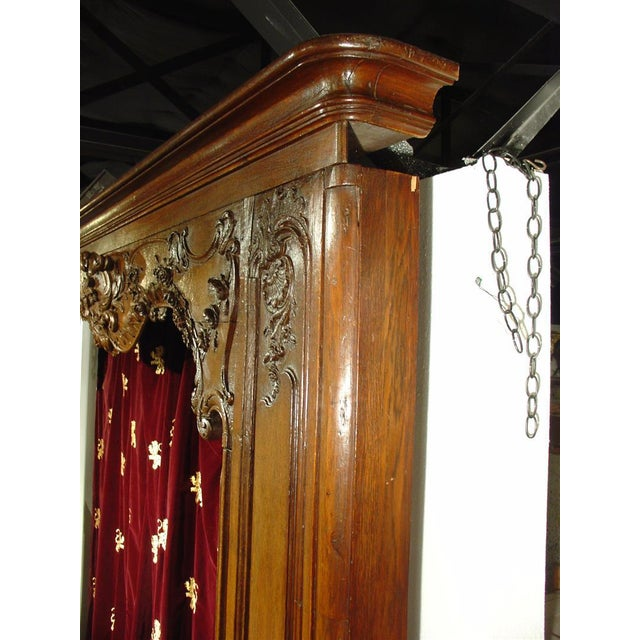 This absolutely stunning and versatile boiseries door surround is from the French Regence period. Made from European Oak,...