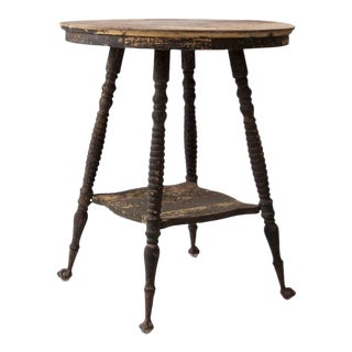 Victorian Claw Foot Accent Table