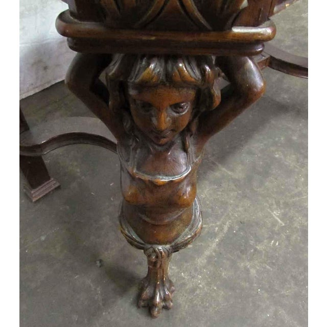 Bear Claw Wooden Console Table For Sale - Image 6 of 10