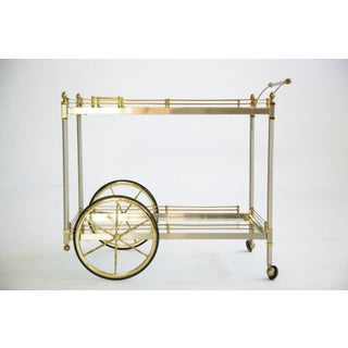 1970's Vintage Italian Bar Cart Preview