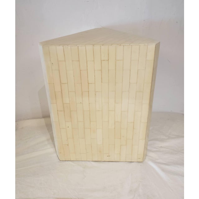 Vintage Bone Inlay Pedestal For Sale In Miami - Image 6 of 6