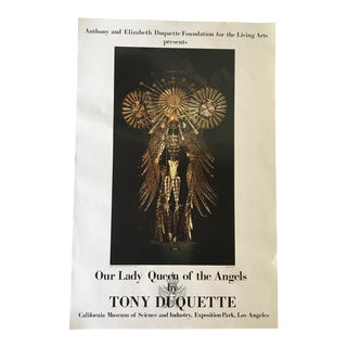 "Tony Duquette's ""Our Lady Queen of the Angels"" Azrael Poster"