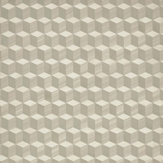 Sample - Schumacher Legno Wallpaper in Birch For Sale