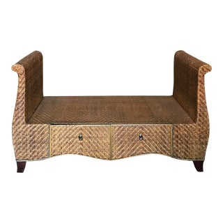 Vintage Woven Daybed For Sale