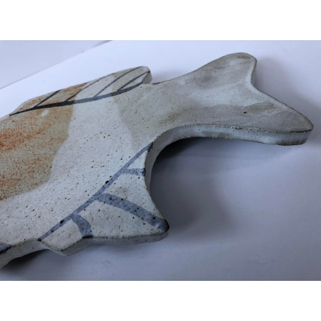Vintage Pottery Fish Platter - Image 4 of 6