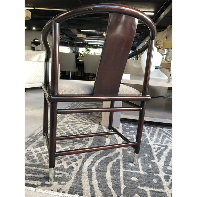 Tan 1990s Brueton Ming Inspired Chairs - Set of 4 For Sale - Image 8 of 13