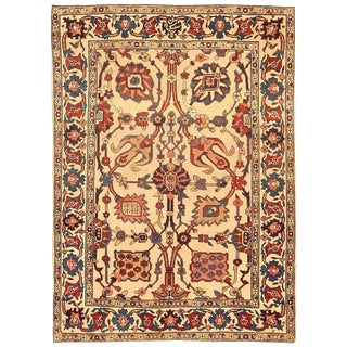 Small Scatter Size Antique Persian Kerman Rug - 2′11″ × 3′1″ For Sale