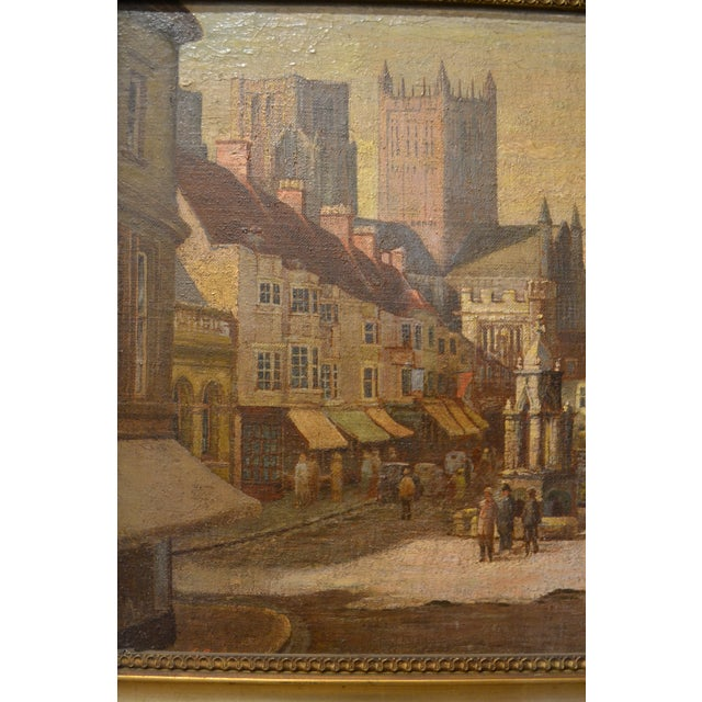 English Traditional Antique 19th Century English Oil on Canvas For Sale - Image 3 of 4
