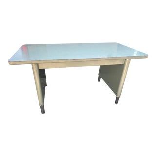 Vintage Steelcase Metal Desk Desk For Sale