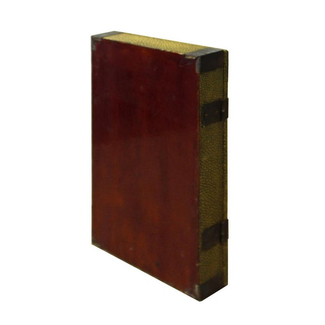 Vintage Chinese Yellow Rectangular Box For Sale - Image 4 of 5