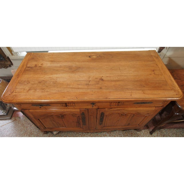 18th Century French Cherry Wood Buffet For Sale - Image 11 of 11