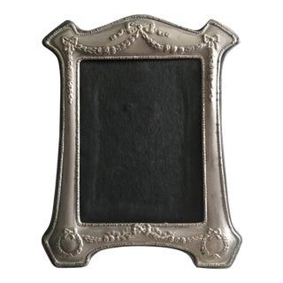 Victorian Repousse Tin French Picture Frame