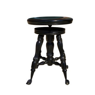 1940s Antique Piano Stool For Sale