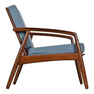 Mid-Century Modern Svend Madsen Beech Wood Lounge Chair For Sale