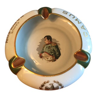 Antique Camus Napoleon Limoges Cognac Cigar Ashtray