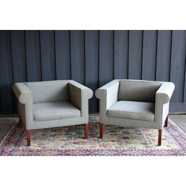 Charles McMurray Postmodern Lounge Chairs, a Pair For Sale - Image 11 of 11