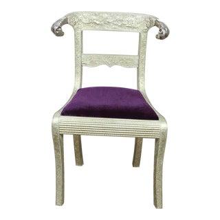 Anglo Raj Wedding Side Chair For Sale