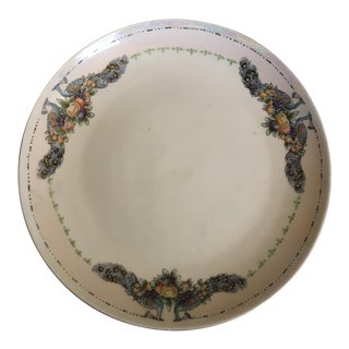 Thomas Bavaria Hand Painted Peacock Platter