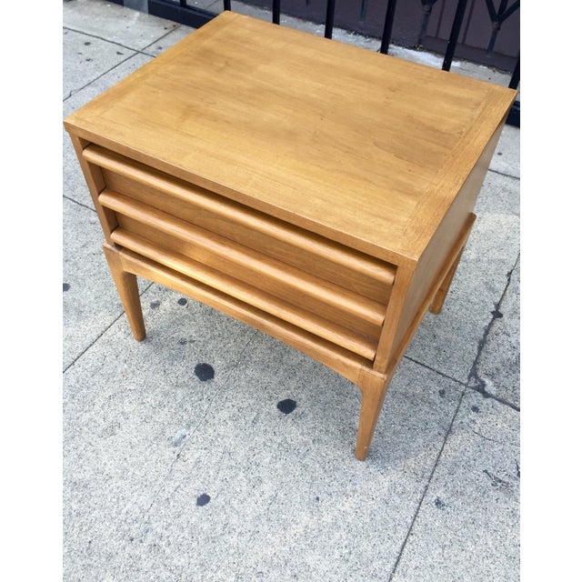 Mid-Century Lane Rhythm End Table Nightstand - Image 5 of 10