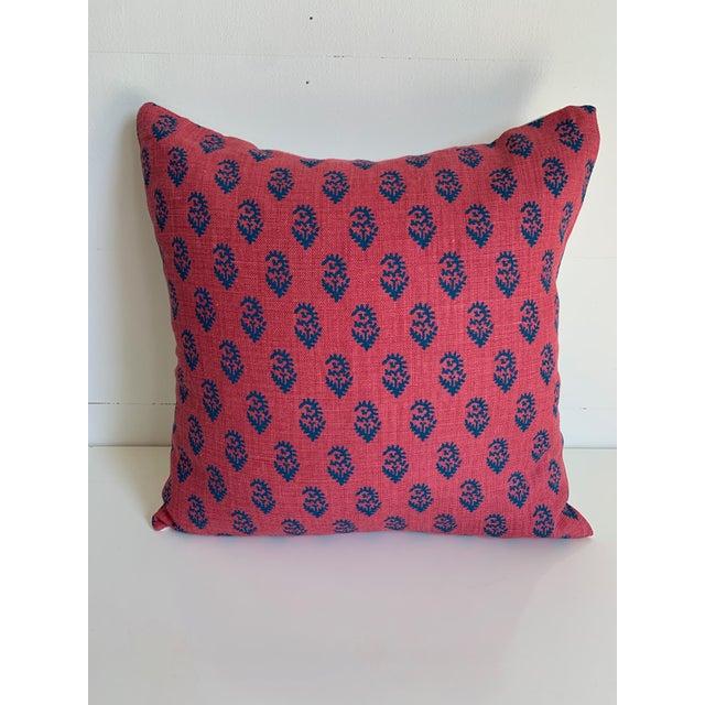 Peter Dunham Peter Dunham Pillow Covers - A Pair For Sale - Image 4 of 5
